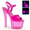 SKY-309UVT Neon Hot Pink Patent